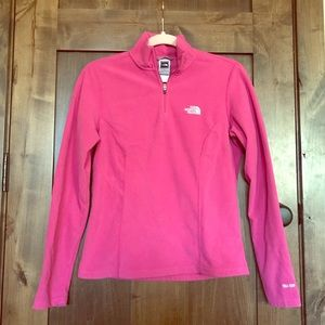 Bundle of TWO North Face fleece jackets.